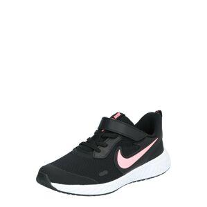 NIKE Športová obuv  čierna / rosé