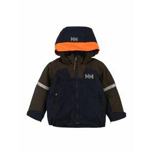 HELLY HANSEN Športová bunda 'LEGEND'  námornícka modrá / olivová / striebornosivá / oranžová