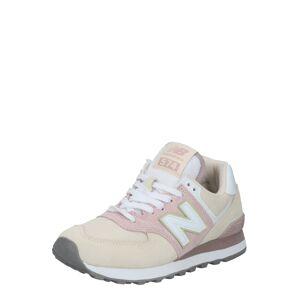 new balance Nízke tenisky  biela / béžová / ružová
