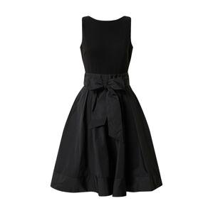 Lauren Ralph Lauren Šaty 'YUKO-SLEEVELESSCOCKTAIL DRESS'  čierna