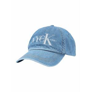 Calvin Klein Jeans Čiapka 'CKJ NYCK CAP'  modrá