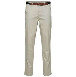SELECTED HOMME Chino nohavice  biela