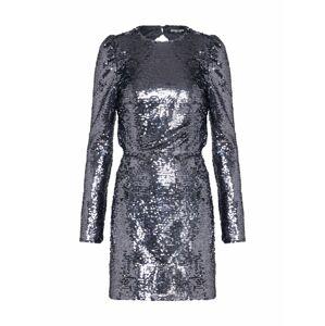 Fashion Union Šaty 'RANDO'  strieborná