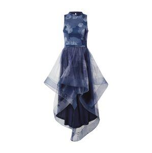 Chi Chi London Kokteilové šaty 'Farcia'  dymovo modrá / tmavomodrá