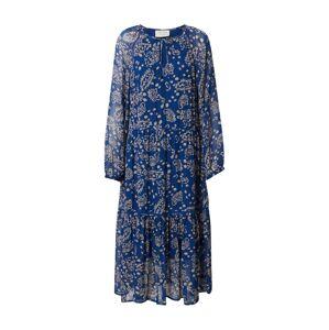 Cecilie Copenhagen Šaty 'Stine'  béžová / modrá