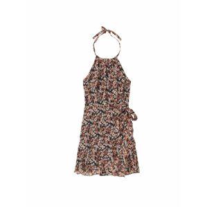 Abercrombie & Fitch Letné šaty  čierna / zmiešané farby