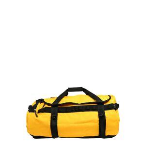 THE NORTH FACE Športová taška  čierna / zlatá žltá