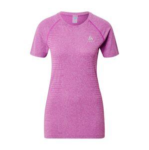 ODLO Funkčné tričko 'SEAMLESS ELEMENT'  fialová melírovaná