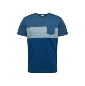 TOM TAILOR Tričko  modrá / nebesky modrá / svetlomodrá