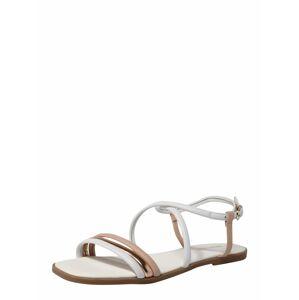 ABOUT YOU Remienkové sandále 'Cara'  biela