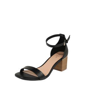 CALL IT SPRING Remienkové sandále 'MAKENZIE'  čierna