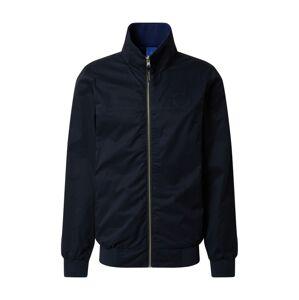 SCOTCH & SODA Prechodná bunda 'Harrington'  tmavomodrá / modrá
