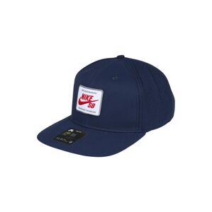 Nike SB Čiapka 'AeroBill Pro 2.0'  námornícka modrá / biela / červená