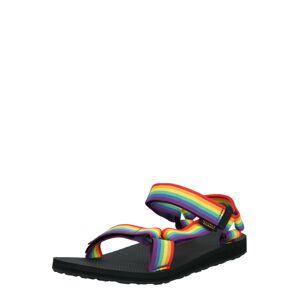 TEVA Trekingové sandále  čierna / zmiešané farby