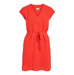 VILA Šaty  svetločervená
