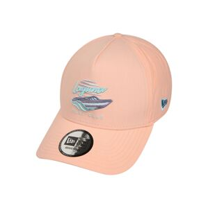 NEW ERA Čiapka 'NEW ERA BEACH TRUCKER'  modrá / marhuľová